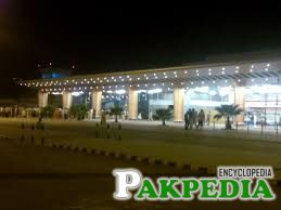 Sialkot International Airport Night Image