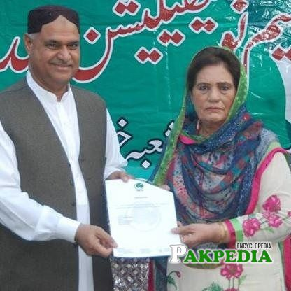 Khalida Mansoor elected as MPA