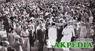 Iskander Ali Mirza in Crowd