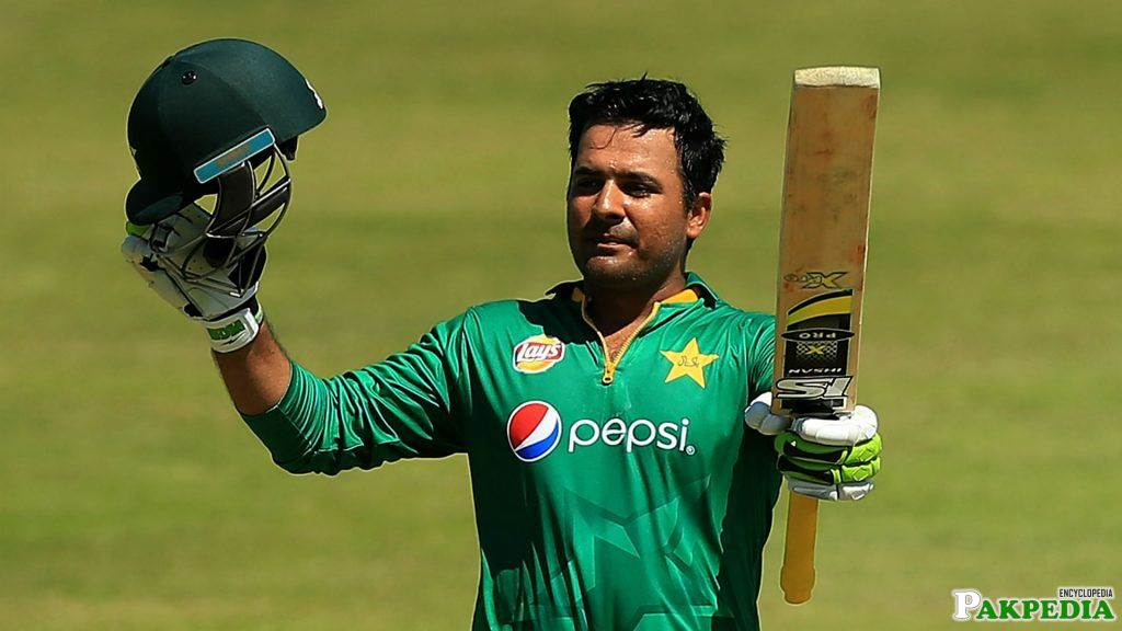 Sharjeel Khan Played Well