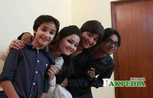 Zuhab Khan family