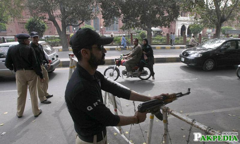 Punjab Police Check Point