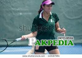 Leading Pakistani Tennis player