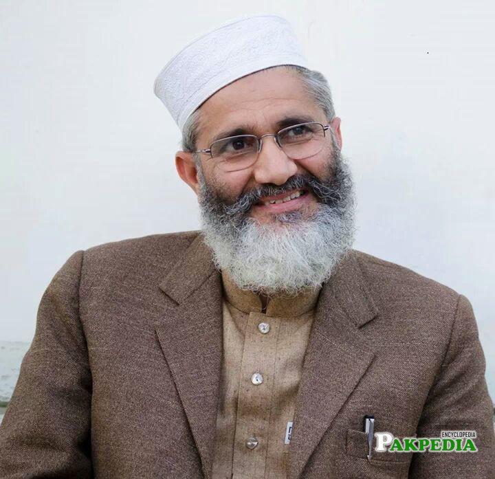 Siraj ul Haq is a great Politician
