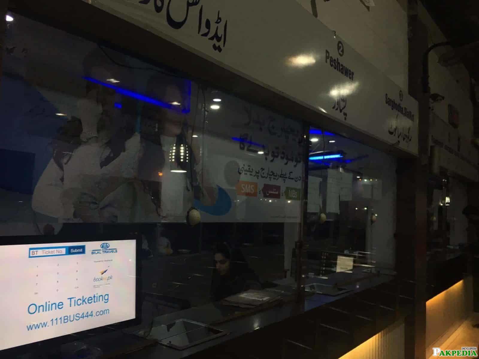 Bilal Travels online ticket booking