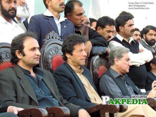 Malik sohail with Imran Khan