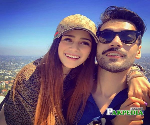 Aima Baig and Shahbaz Shigri