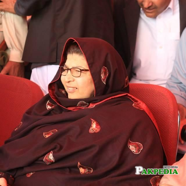 Pakistani woman politician hailing from Haripur District