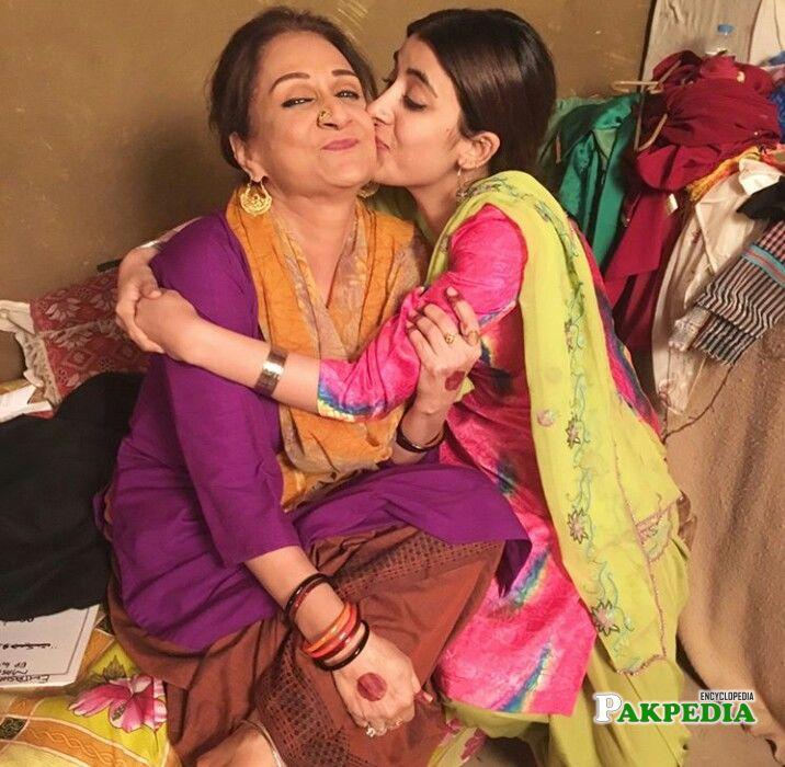 Urwa Hocane with Bushra Ansari