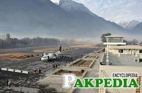 Gilgit Airport Back Side