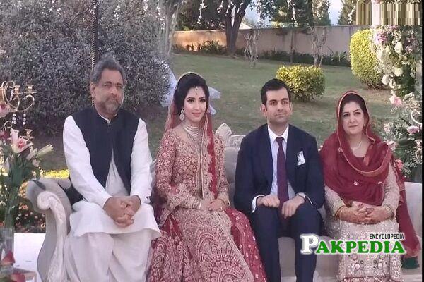 Shahid Khaqan Abbasi Family