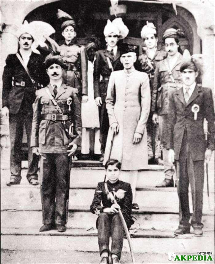 M Jinnah In Lyallpur