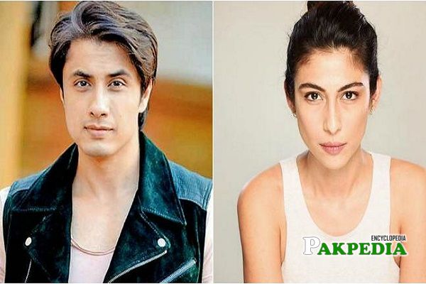 Meesha accused Ali Zafar for accusing her