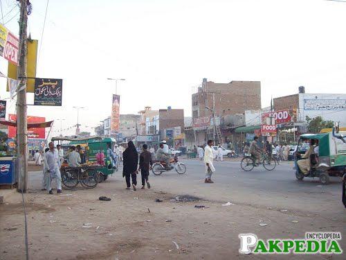 City view of Lodhran