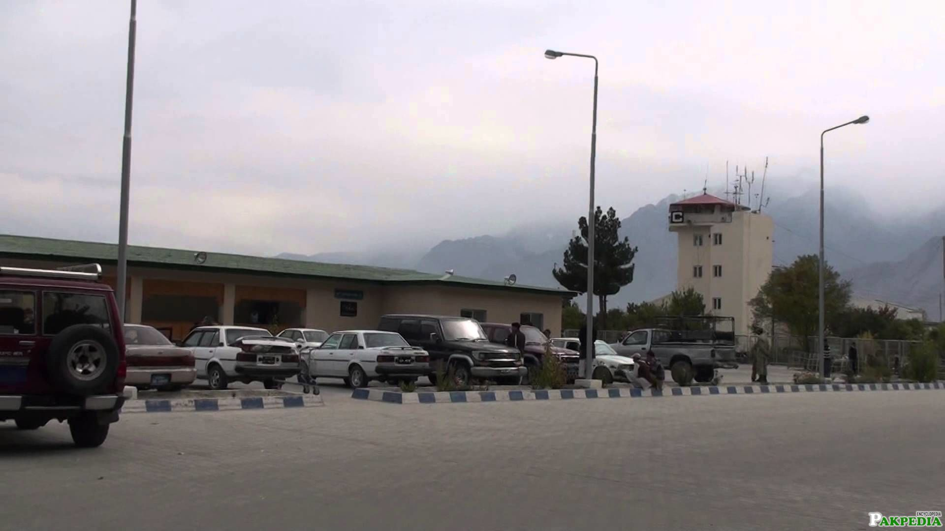 Skardu Airport Outside the Airport
