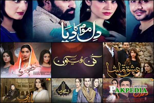 Alizeh Shah Dramas