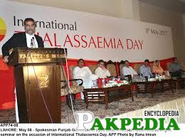 Syed Zaeem Hussain Qadri in a Function