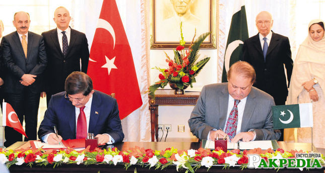 Embassy of Turkey improve the diplomatic relation