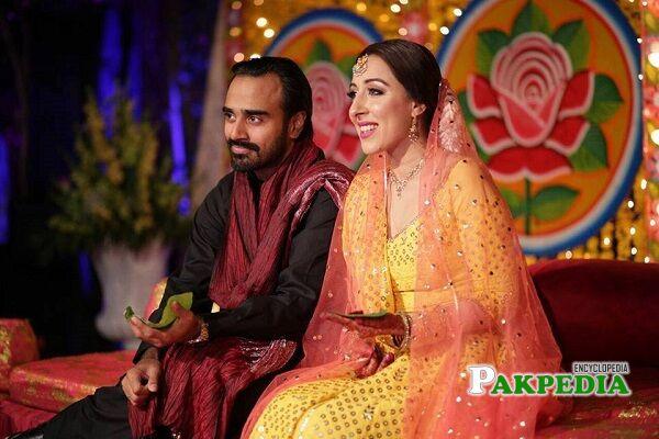 Jaffer Zaidi wife
