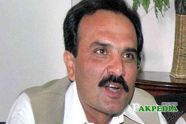 ANP leader Haider khan hoti