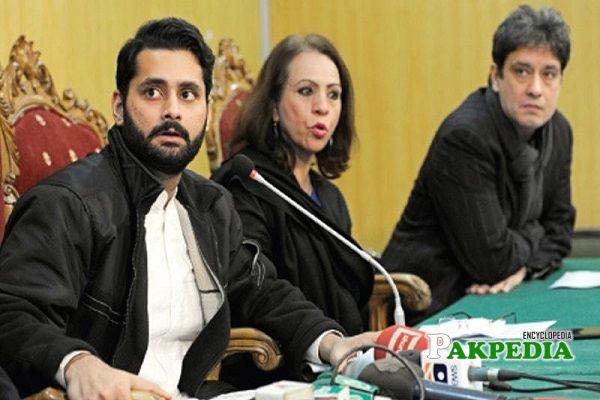 Jibran working as Human right activist