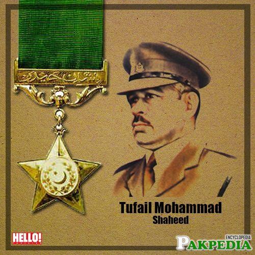 Tufail Mohammad Nishan-e-Haider
