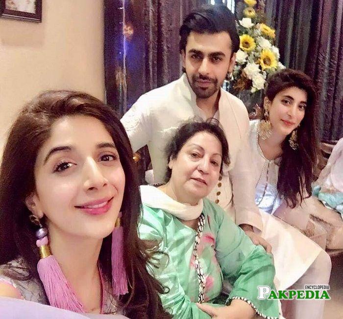 Farhan Saeed family