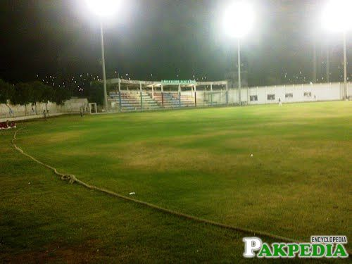 Bahawal Stadium Night View