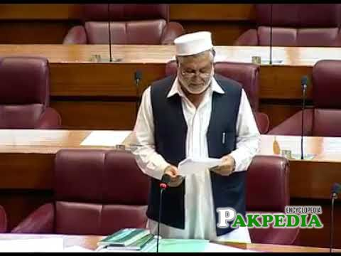 While Speeching in National Assembly