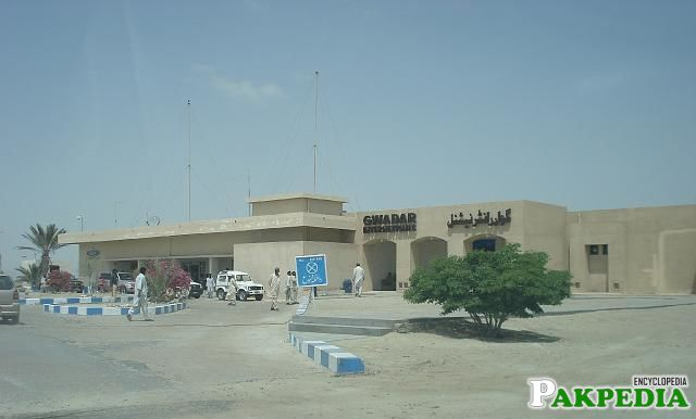 Gawadar International Airport Side View