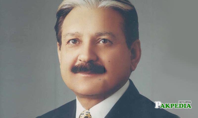 CEC Sardar Muhammad Raza