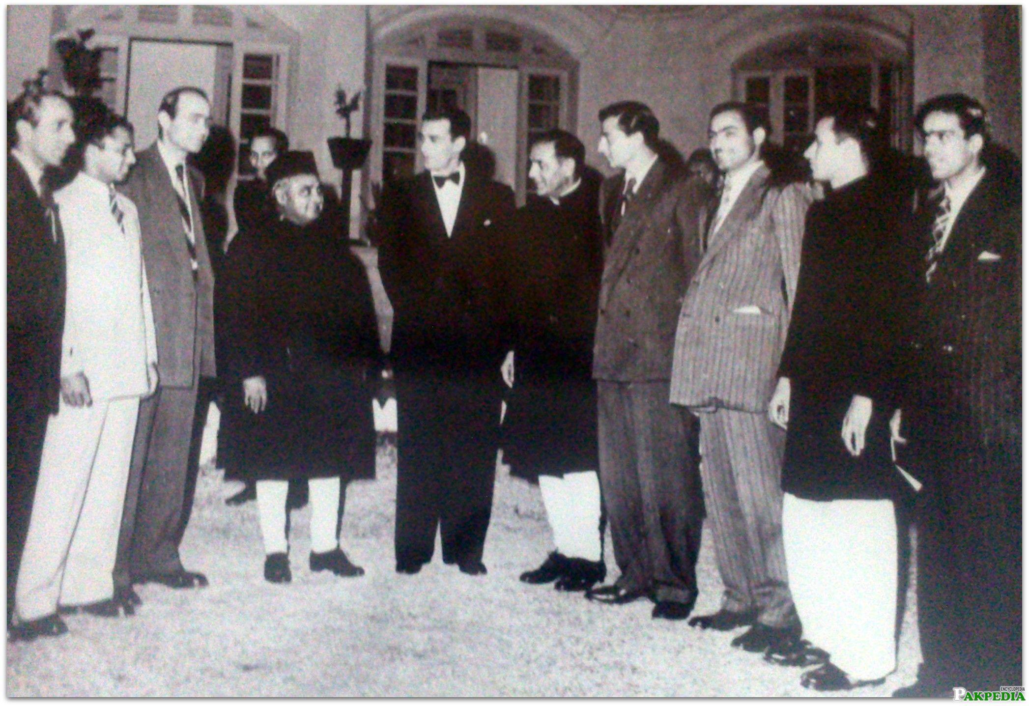 Khawaja Nazimuddin An Old Picture