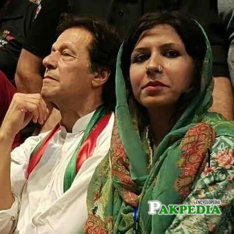 Sabeen Gul Khan with PM imran khan