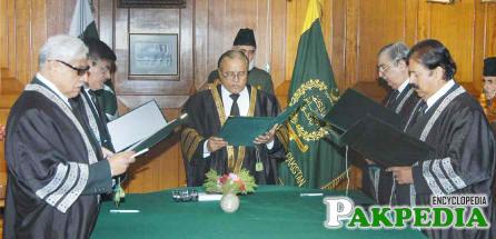 Abdul Hameed Dogar Justice Sindh High Court