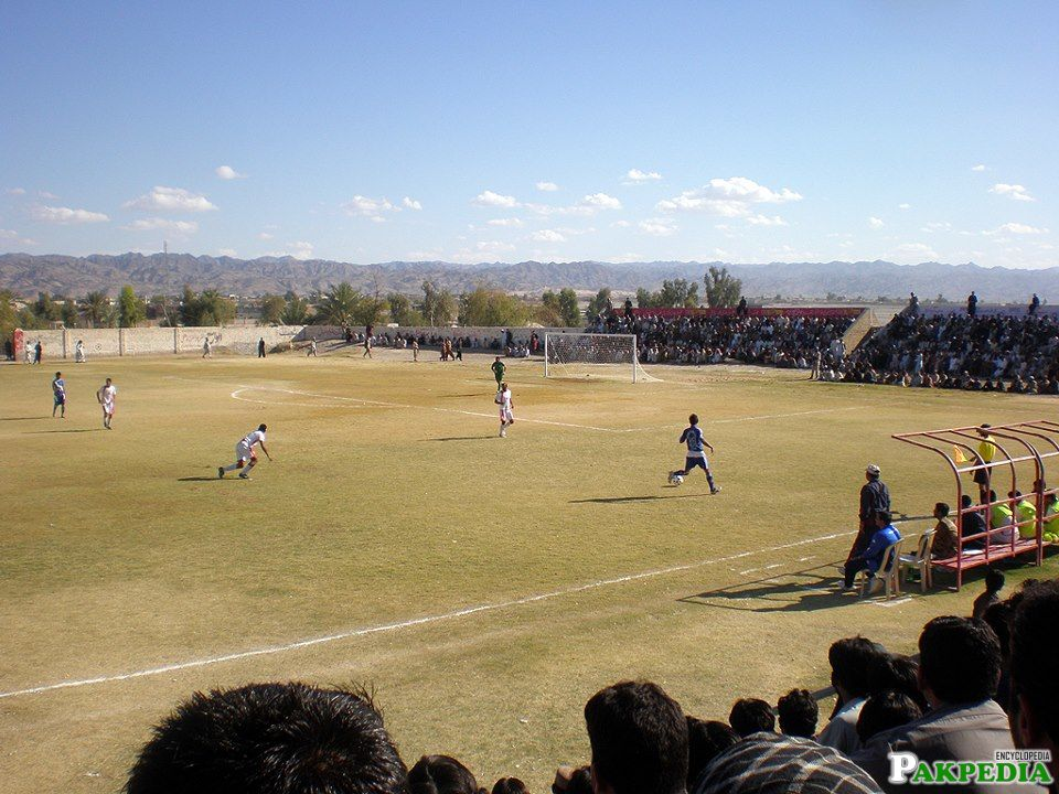 Nushki Foot Boll Ground