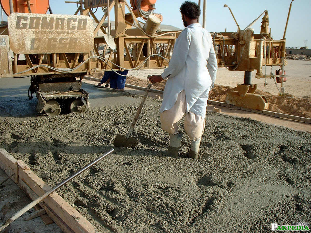 Usage of Lucky Cement