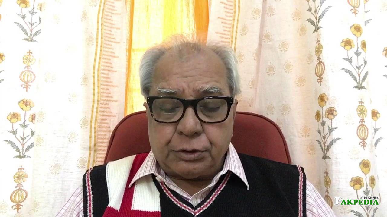 Shaukat in an interview
