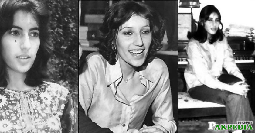 Benazir Bhutto childhood Images