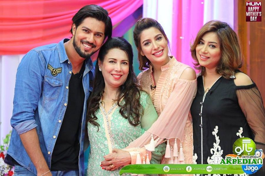 Mehwish Hayat Family