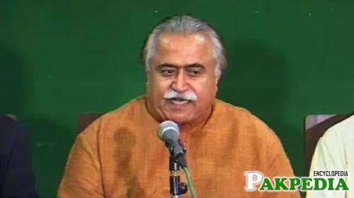 Maula Bakhsh Chandio Member of PPP