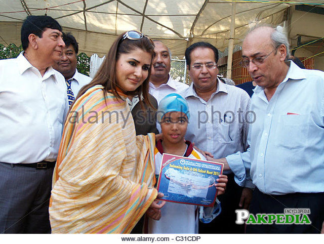 While giving certificate to a student