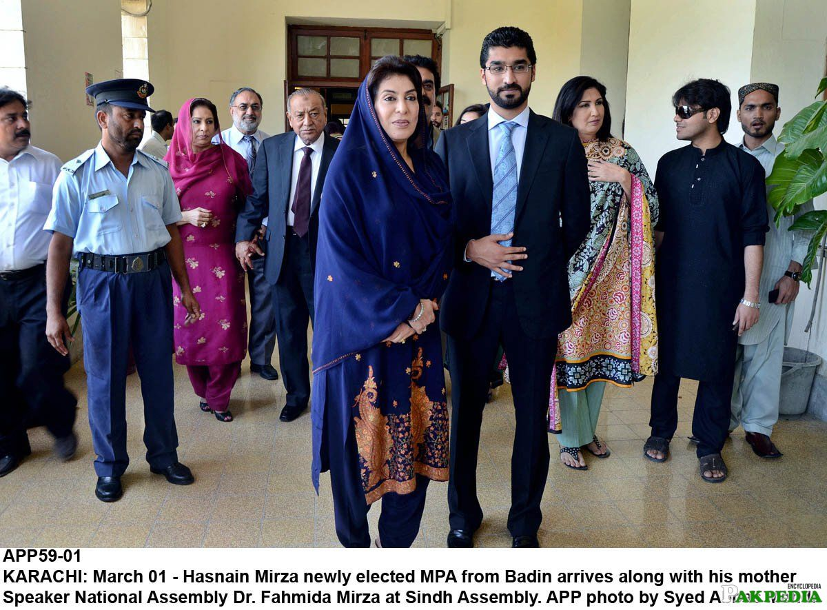 Fahmida Mirza with new MPA of PPP