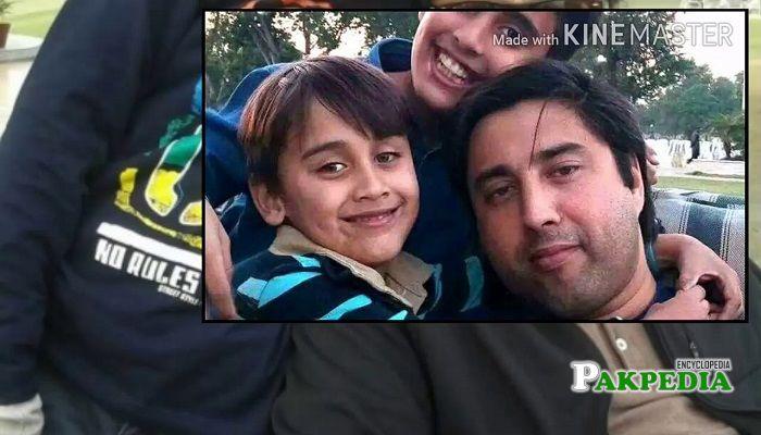 Jahangir Khanzada Family