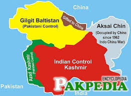 Map of Gilgit Baltistan
