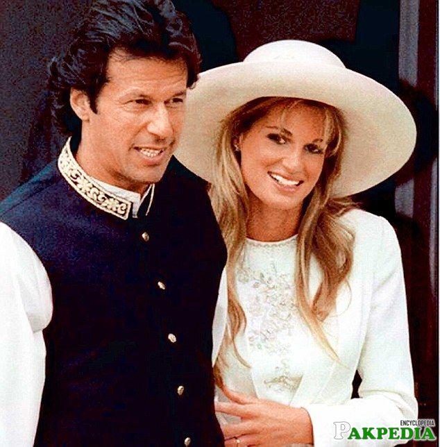 Jemima wedded Imran