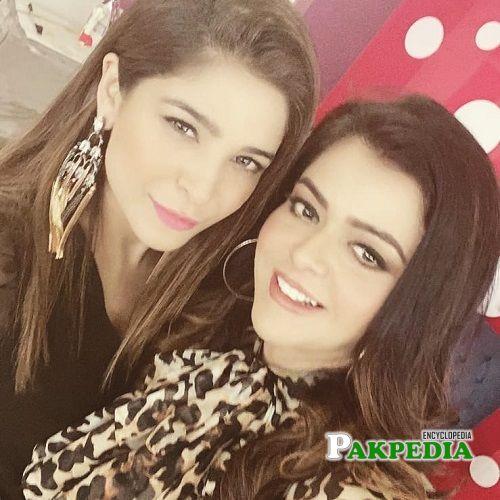 Maria Wasti and Ayesha Omar