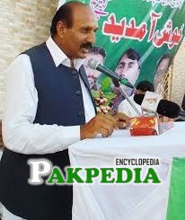Raja Sagheer Ahmed while addressing