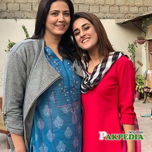 Shehzeen and Saweera Nadeem