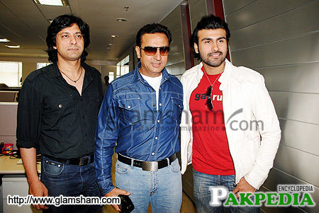 Jawad With Indian actors