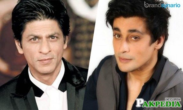 Sahir Lodhi and Shahrukh Khan